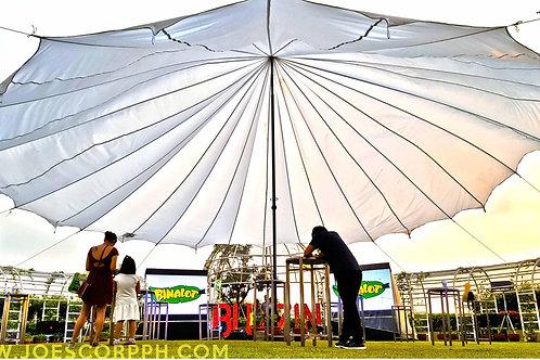 TELLA® Parachute Tent 50 feet diameter