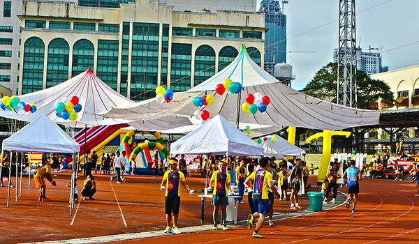 Tella, parachute, tent, joes, corp, corporation, events, tents, tent, manila, university, of, makati