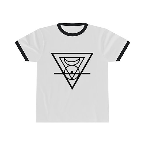 MAL - Cycle of Fusion Symbol Unisex Ringer Tee