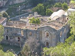 Viran Church-walking route north cyprus