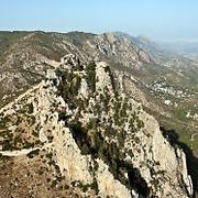 kantara castle - hiking route in north Cyprus