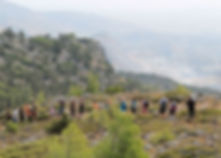 Buffavento-Bellapais Walks- the most spectacular hiking routes and walking tours in Northern Cyprus.