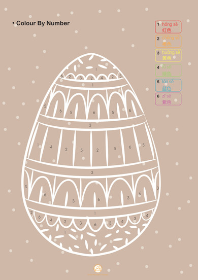 EASTER: Colour in the Egg