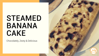 How To Make a Steamed Banana Cake