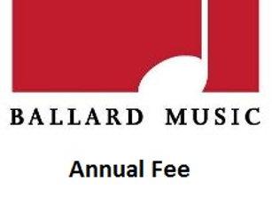 Band Annual Fee