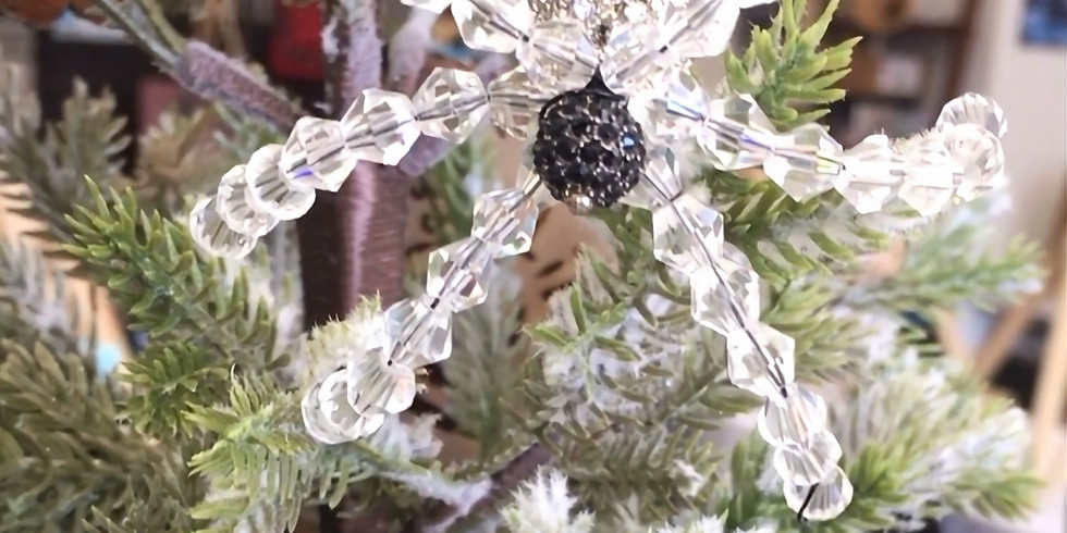 Christmas Spider Workshop!