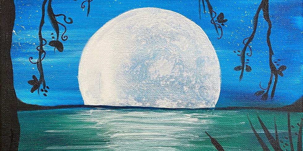 """Blooming Moon"" Serene Sunday!"