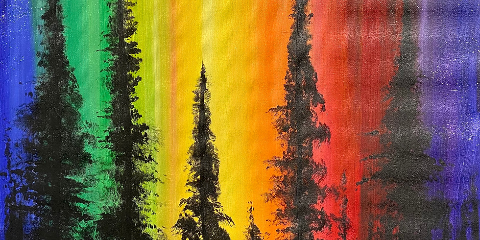 """""""Pride of the Forest"""" Paint Night!"""