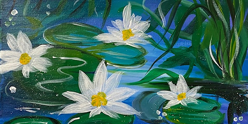 Leap Year Lily Pads HALF-OFF Paint Night!