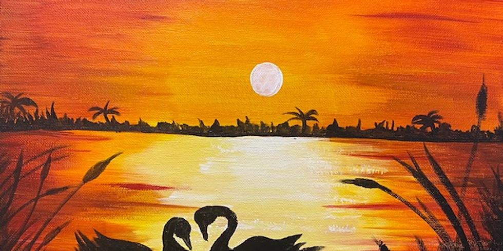 """""""Swan Lake"""" Paint Night!"""