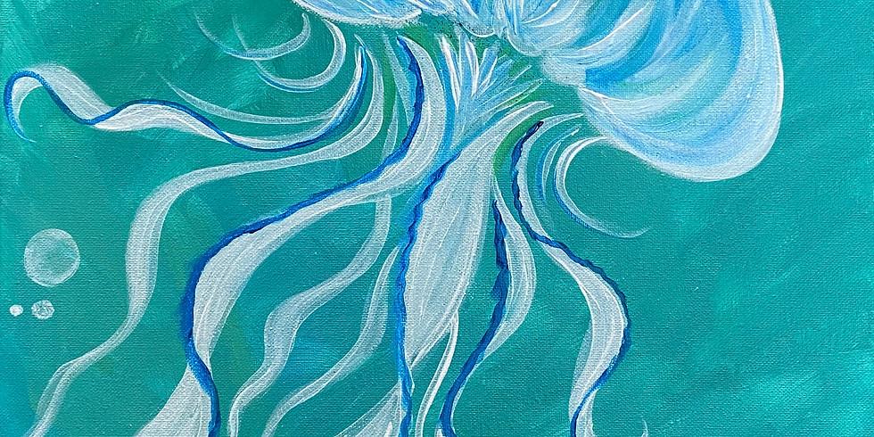 Jellyfish Paint Night!