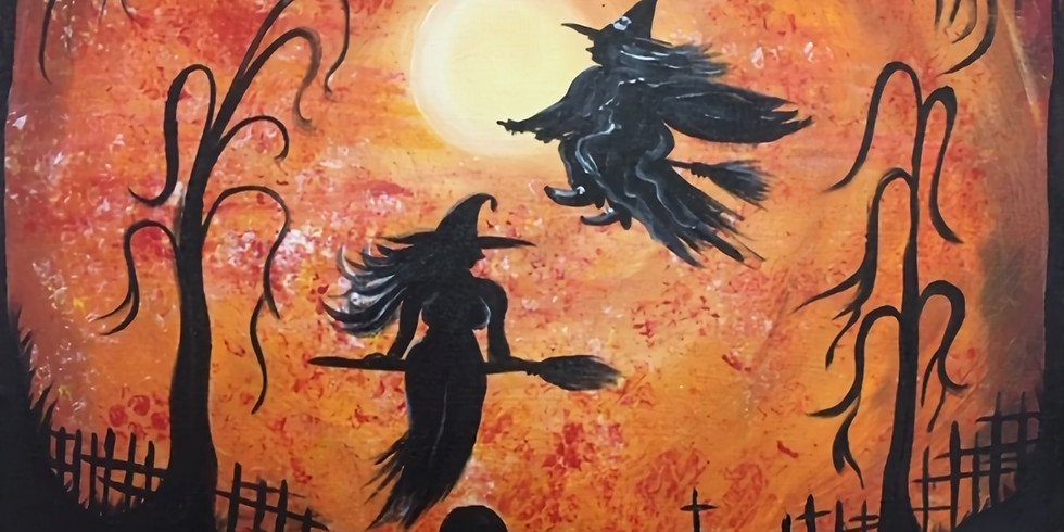Witches in the Sky!
