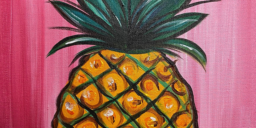 Pineapple Express Paint & Movie Night!