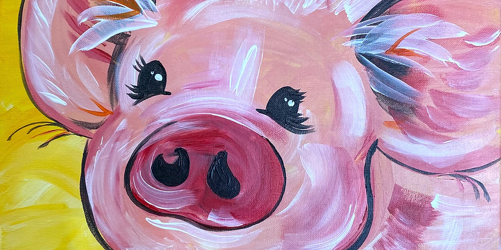 Piggy Paint Night!