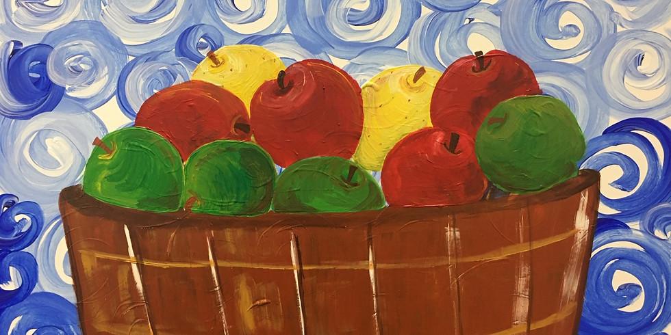 Apple Basket Paint Night!