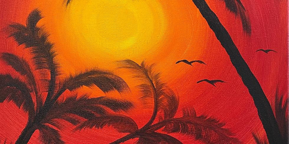 'Palm' Sunday Paint Day!