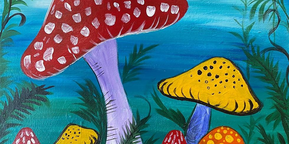 Mushroom Paint Night!