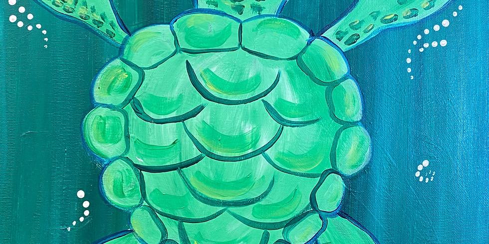 Turtle Paint Night!