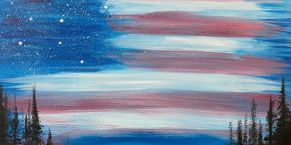 Flag Day Painting!