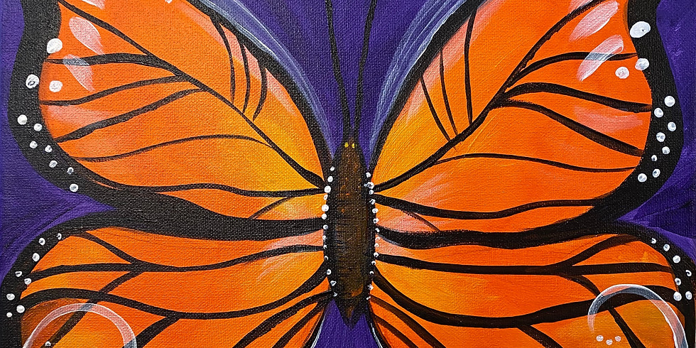Butterfly Paint Night!