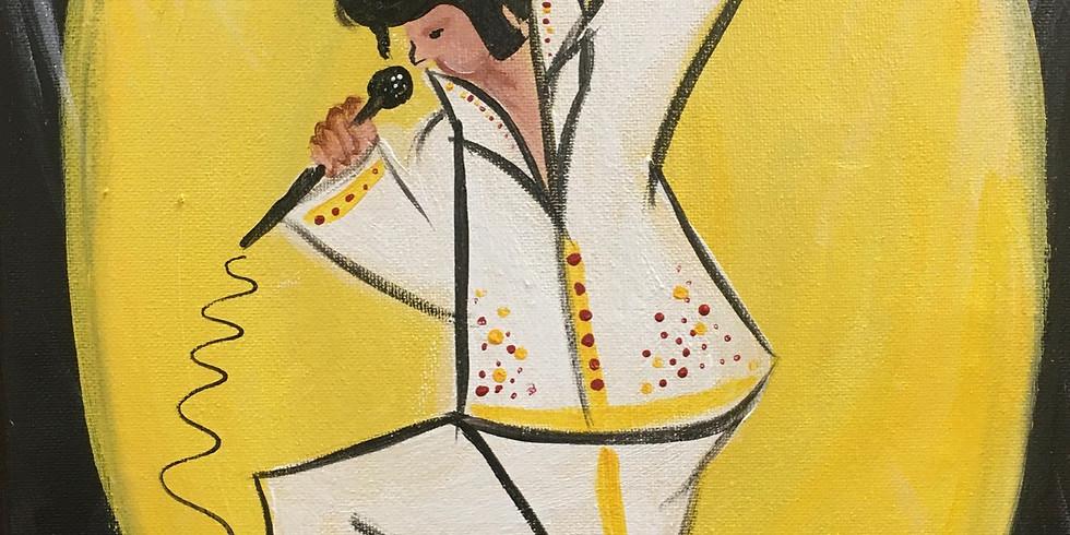 Evening with Elvis Paint Night!