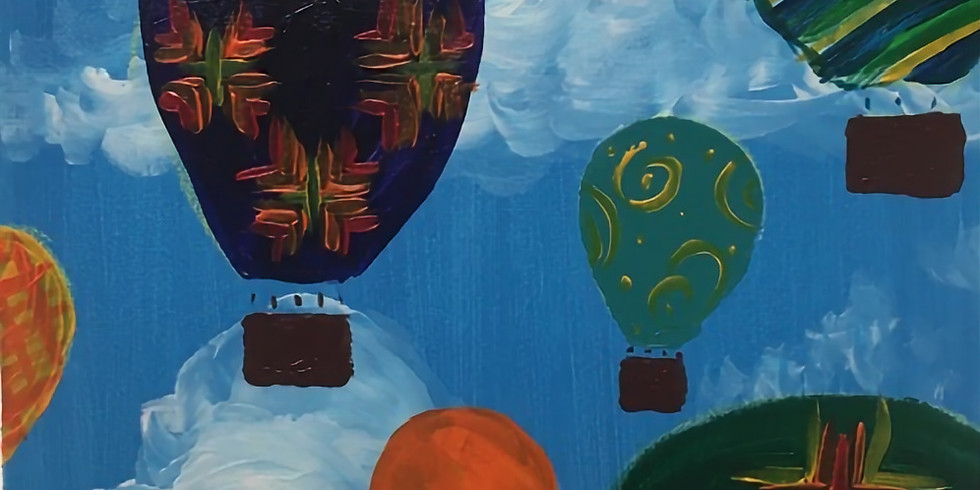 Hot Air Balloons Paint Night!