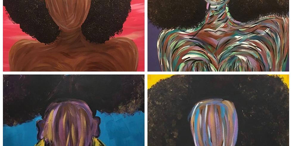 """Black Beauty"" Paint Night!"