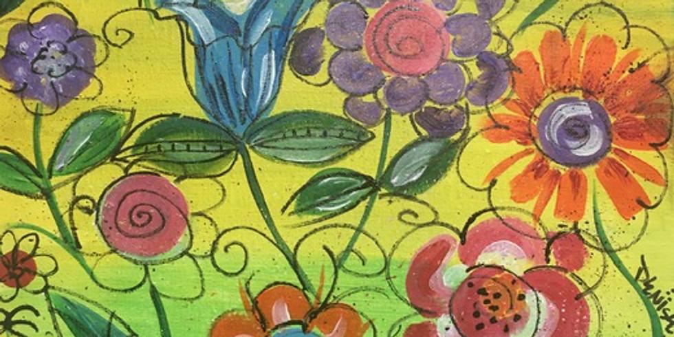 Field of Flowers Paint Night!