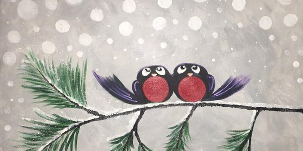 Snow Birds Paint Night!