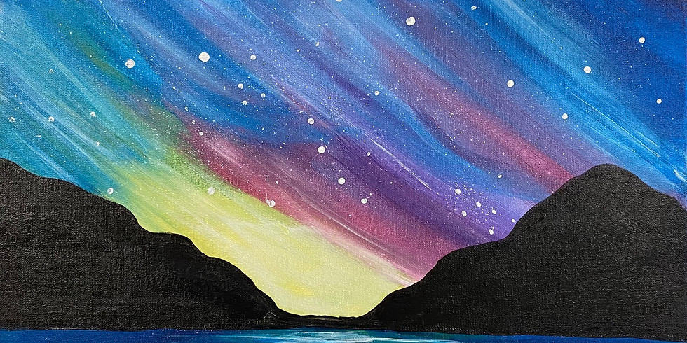 """Midnight Light"" Paint Night!"