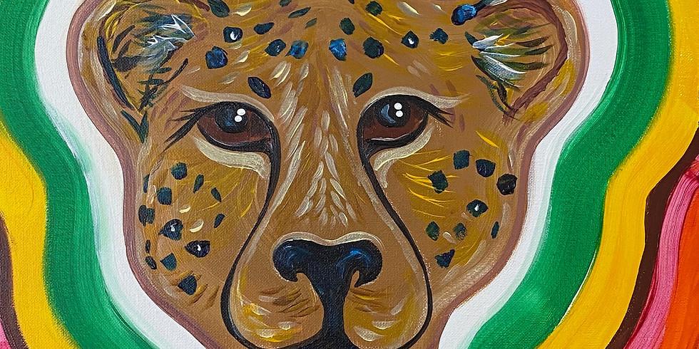Cheetah Paint Night!