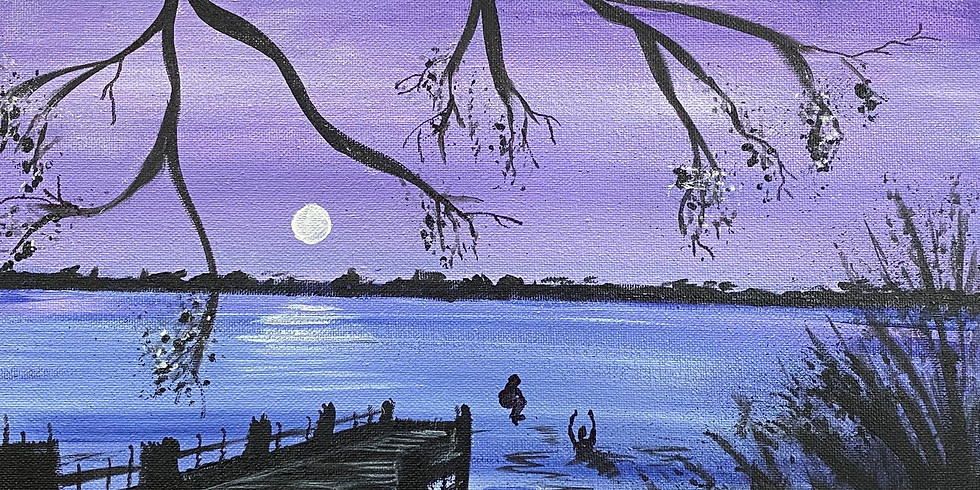 """""""Taking the Plunge"""" Paint Night!"""