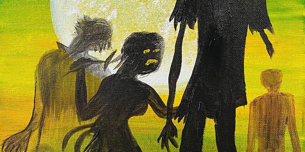 Zombieland Paint & Movie Night!