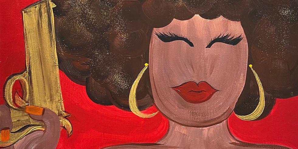 Austin Powers GOLDMEMBER Paint & Movie Night!