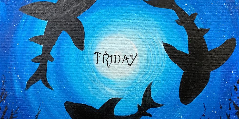 Shark Paint Night!
