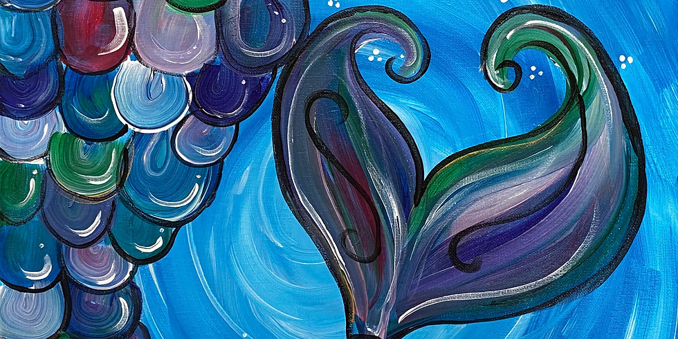 Mermaid Tail Paint Night!