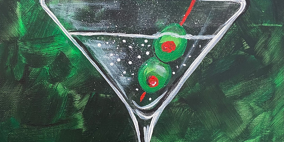 Martini Paint Night!