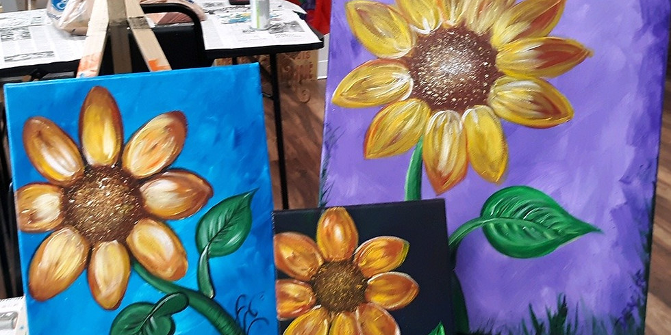 Sunflower Paint Night!