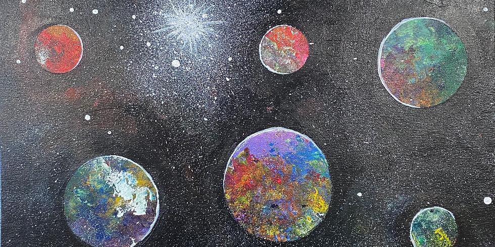 Deep Space Paint Night!