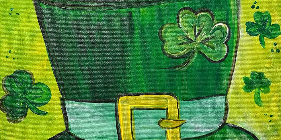 """My Lucky Hat"" Paint Night!"