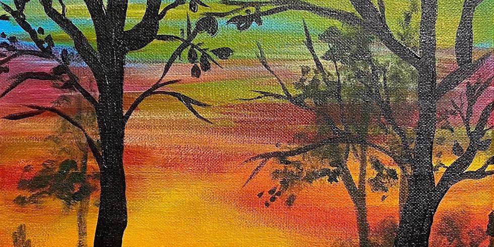 """Sunset Walk"" Paint Night!"
