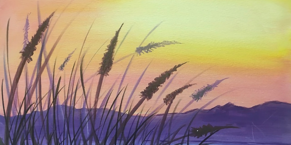 Sunset from the Dunes Paint Night!