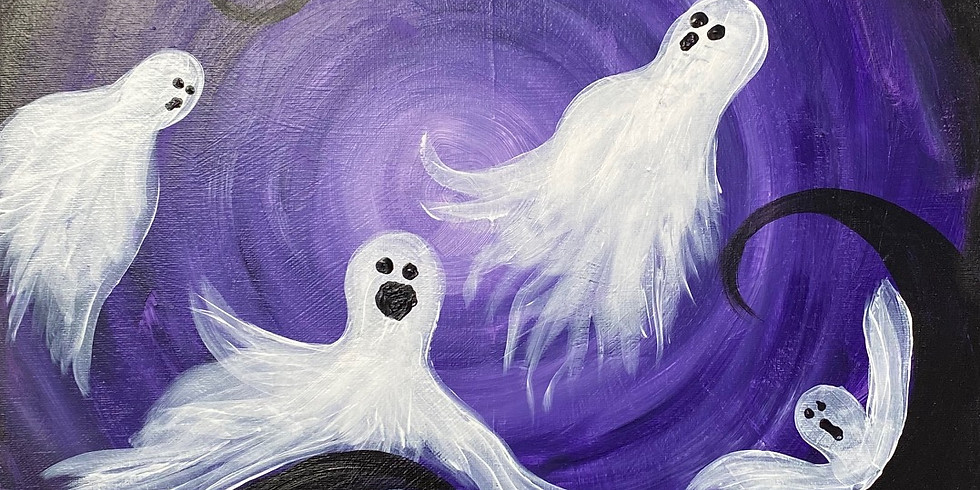 Ghost Busters Paint & Movie Night!