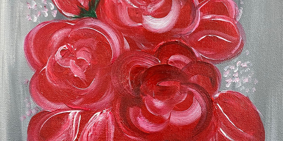 """""""Rose All Day!"""" Paint Night"""