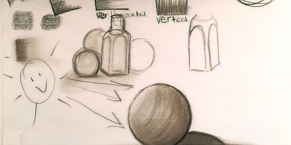Still-Life Basic Drawing Class!