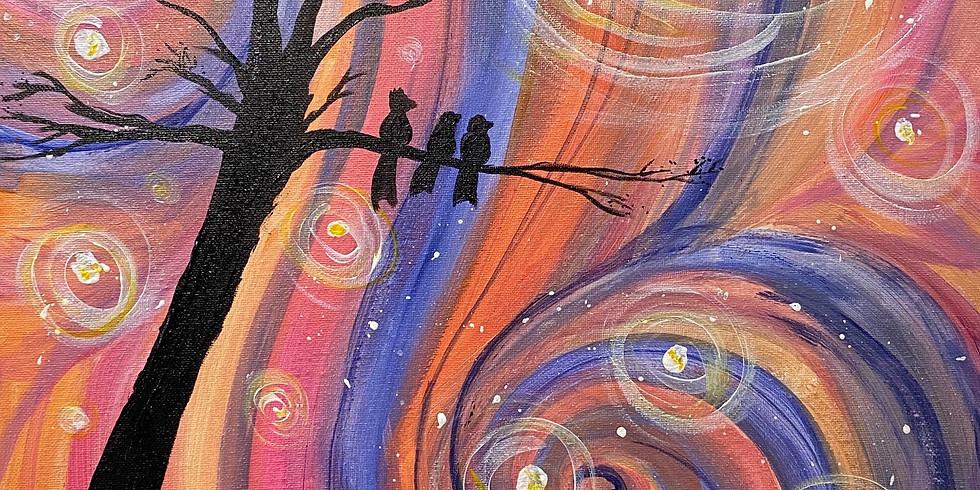 """""""Three Little Birds"""" Paint Night!"""