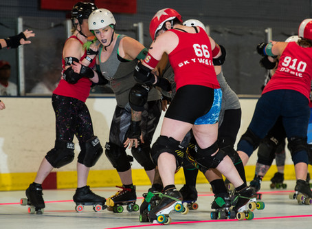 Garden State Rollergirls' Brick City Bruisers Take On Lehigh Valley Roller Derby in North Arlington