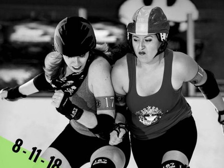 Live Roller Derby on Saturday Aug. 11