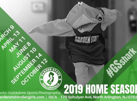 2019 Home Season Dates Announced
