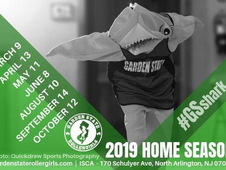 2019 Home Season Dates Announced